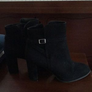 Black Banana Republic ankle booties (size 8)